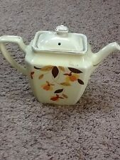 Hall AUTUMN LEAF  (Long Spout) Teapot Coffee Pot 7""