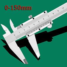 150mm/ 6inch Stainless Steel Vernier Caliper Gauge Micrometer AU STOCK