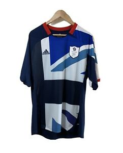 Team GB Olympics LONDON 2012 Home Football Shirt Size L Large