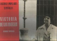 VICTORIA DE LOS ANGELES RENATA TARRAGO LP Spain 58 Canciones populares españolas