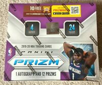 2019-2020 Panini Prizm NBA RETAIL PACK from Sealed Box +1 FREE BASKETBALL CARD