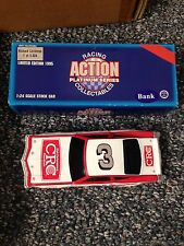 1995 Richard Childress  #3 Action 1:24 Scale Car Bank CRC Mint BV $50 Vintage