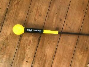 SKLZ Golf Gold Flex Tempo Strength Swing Training Aid Trainer 48 Inches
