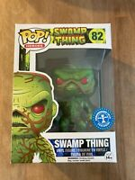 Swamp Thing - Underground Toys Exclusive DC Funko Pop #82 *New & FREE Protector*