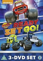 Blaze And The Monster Machines: Ready, Set, Go Collection [DVD][Region 2]
