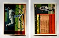 James Baldwin Signed 1997 Topps #310 Card Chicago White Sox Auto Autograph