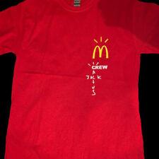 Mcdonalds Travis Scott Cactus Jack Collab Merch T-Shirt