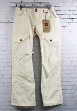 New 2014 Womens Burton Lucky Snowboard Pants Medium Canvas