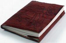 Lederbuch Mittelalterbuch Notizbuch aus Leder Notizbuch mit Kamel Motiv