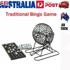 Complete Bingo Set Deluxe Classic Carnival and Casino Game for Kids Teens Adults