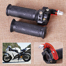 2x Twist Throttle Accelerator Handle Grips Fits 49cc Bike ATV Quad Pocket Dirt