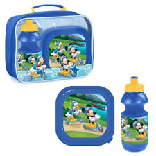 "Micky Maus Picnic Set (3-teilig) "" Mickey & Donald "" Lunchbox Drink Bottle"