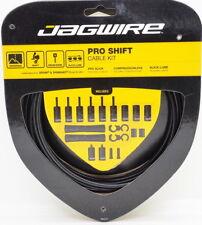 Jagwire Road Pro Slick Polished Shift Cable Kit For Sram/Shimano Black