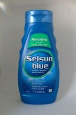 Selsun Blue Moisturizing with Aloe Dandruff Shampoo, 11 Fl Oz