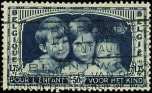 Belgium Scott #B165 Used