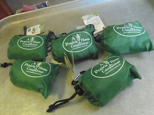 Lot of Five New Chicobags Reusable Shopping Bags A Prairie Home Companion