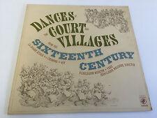 Jean-Claude Malgoire LP Dances of the Court & Villages 1977 VINYL LP NM/EX