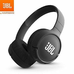 JBL E500BT Wireless Bluetooth On Ear Rechargeable Black Headphones Sound