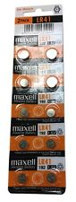 Alkaline Button Cell Battery 2- Pack/10 LR41 1.5V Toys, Calculators, Watch NEW