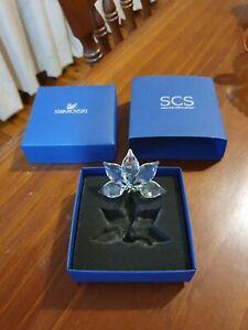 Swarovski Crystal Orchid New In Box A9100 NR000399