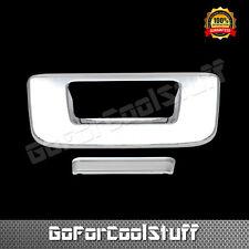 For 07 08 09 10 11 12 13 Chevy Silverado Chrome Tailgate Cover W/O Keyhole 1024