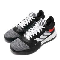 buy popular 1305d ad591 adidas Marquee Boost Low Black White Red Men Basketball Shoes Sneakers  D96931