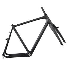 Carbon Cyclocross Bike Frameset 55cm BSA Cantilever Brake UD Matt Rear 130mm
