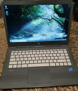 """HP Stream 11"""" Intel Celeron N3060  1.6GHz 4GB RAM 64GB SSD Windows 10 webcam"""