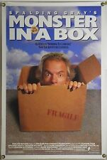 MONSTER IN A BOX ROLLED ORIG 1SH MOVIE POSTER SPALDING GRAY (1992)
