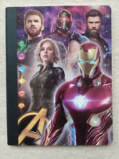 Brand New Avengers Iron Man Superhero Notebook Infinity War Marvel 100 sheets