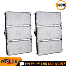 2X 300W Viugreum Led Flood Light Outdoor Spotlights Garden Path Warm White Lamp