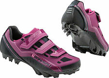 New Louis Garneau Sapphire Women's MTB Shoe: Magenta Purple 40