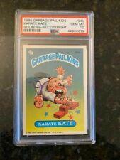 1986 Topps Garbage Pail Kids #94B KARATE KATE W/COPYRIGHT (LOW POP)......PSA 10!