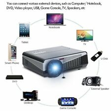 LED-86+ 3D 5000 Lumens Home Theater LED Projector for 46-243 Screen 1280x800 wf