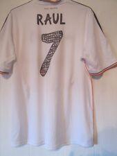 Real Madrid 2013-2014 Raúl 7 despedida Hogar Camiseta De Fútbol Talla XL/43373