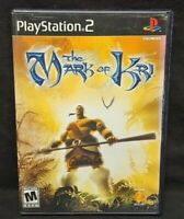Mark of Kri -  PS2 Playstation 2 COMPLETE Game 1 Owner Near Mint Disc