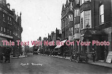 KE 126 - High Street, Bromley, Kent c1917 - 6x4 Photo