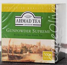 Ahmad Tea London Gunpowder Supreme Exclusive China Green Tea (Loose) 500g / 17.6