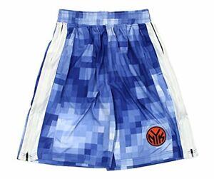 Zipway NBA Men's New York Knicks Pixel Mesh Athletic Shorts