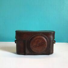 FED - Rare Soviet russian USSR original leather case camera fed-1 LEICA II