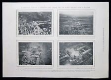 AERIAL PHOTOGRAPHIC VIEWS FROM A BALLOON PEKING BEIJING CHINA MAGAZINE PAGE 1905