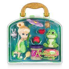 Disney Store Animators' Collection Tinkerbell Fairy Mini Doll Play Set - 5''