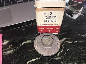1964 1965 1966 1967 ECONOLINE MASTER CYLINDER CAP NOS FORD AB-2162C . EDSEL1958