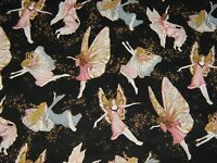 FAIRY BRIAR WINGS By Robert Hoffman-100% Cotton by the Yard- FREE SHIPPING!