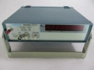 Tektronix CFC250 100 MHz Frequency Counter **Perfect Working Condition**
