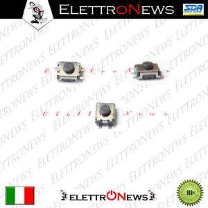 Tasto pulsante bottone TELECOMANDO 3,5 x 3,0 x 2,0 FIAT Citroen Toyota Audi