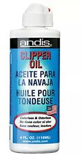 ANDIS CLIPPER OIL 118 ml FOR PROFESSIONAL CLIPPERS/TRIMMERS BARBER SHOP🌹