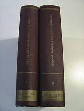 Martinelli - Grande Manuale Pratico di Idraulica Vol. I e II° (Pittureri 1963)