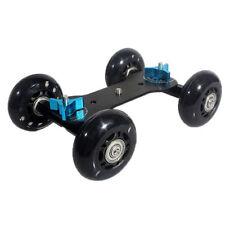 Mini DSLR Kamera Glide Tisch Skater Schiene Auto Roller Slider Stabilizer Track