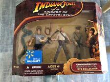 2008 Indiana Jones WALMART COMMEMORATIVE Kingdom Crystal Skull 2 of 2 Set